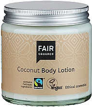 """Parfumuri și produse cosmetice Loțiune de corp """"Cocos"""" - Fair Squared Body Lotion Coconut"""