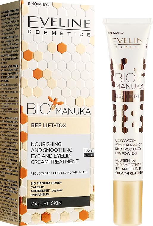 Cremă pentru zona ochilor - Eveline Cosmetics Bio Manuka Bee Lift-tox