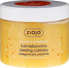 "Parfumuri și produse cosmetice Peeling pentru corp ""Dovleac și ghimbir"" - Ziaja Sugar Body Peeling"