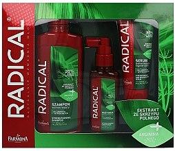 Parfumuri și produse cosmetice Set - Farmona Radical (shm/400ml + cond/100ml + serum/100ml)