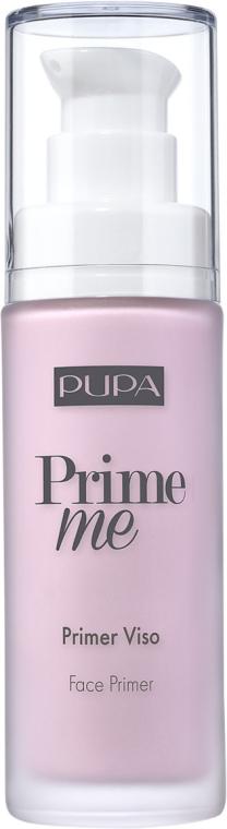 Праймер для коррекции желтоватого оттенка - Pupa Prime Me Corrective Face Primer — фото N1