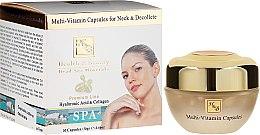 Parfumuri și produse cosmetice Fiole pentru față și decolteu - Health And Beauty Multi-Vitamin Capsules For Neck And Decollete