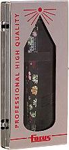 Pensetă pentru sprâncene, oțel inoxidabil, flori de noapte - Focus Tweezers Sublime — Imagine N1
