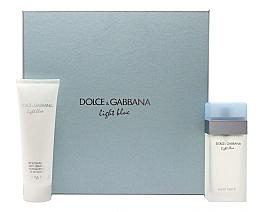 Parfumuri și produse cosmetice Dolce & Gabbana Light Blue - Set (edt/100ml + b/cr/100ml)