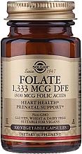 "Parfumuri și produse cosmetice Supliment alimentar ""Acid folic"" (800 mcg folic acid) - Solgar Folate 1,333 MCG DFE"