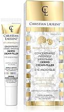 Parfumuri și produse cosmetice Концентрированный крем для кожи вокруг глаз - Christian Laurent Botulin Revolution Concentrated Dermo Cream-Filler Eye And Eyelid