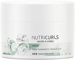 Parfumuri și produse cosmetice Mască de păr - Wella Professionals Nutricurls Mask