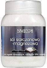 Parfumuri și produse cosmetice Sare de baie cu sulfat de magneziu - BingoSpa Salt And Magnesium Sulphate