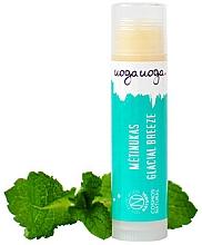 """Parfumuri și produse cosmetice Balsam cu ulei de mentă pentru buze """"Briză revigorantă"""" - Uoga Uoga Lip Balm Glacial Breeze"""