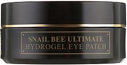 Parfumuri și produse cosmetice Patch-uri hidrogel cu mucină de melc și venin de albine - Benton Snail Bee Ultimate Hydrogel Eye Patch