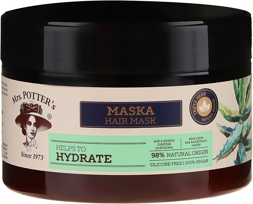 Mască pentru păr uscat - Mrs. Potter's Triple Herb Hydrate — Imagine N1