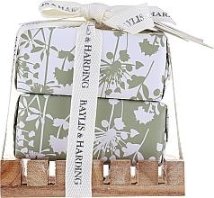 Parfumuri și produse cosmetice Set - Baylis & Harding Urban Barn Lime, Basil & Mint (soap/2x200g)