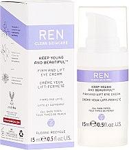 Parfumuri și produse cosmetice Cremă cu efect de întărire și lifting pentru zona ochilor - Ren Keep Young and Beautiful Firm and Lift Eye Cream