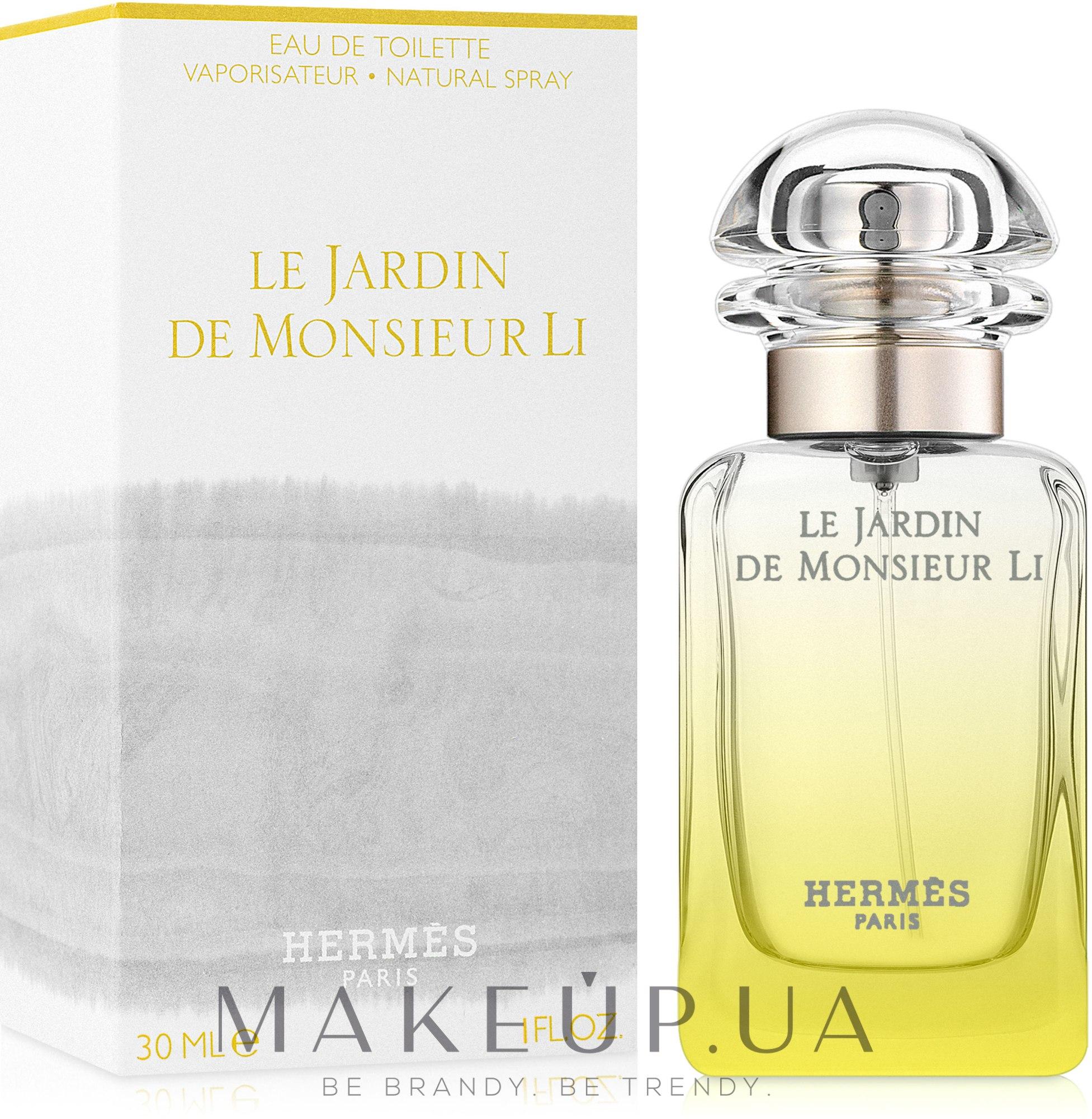 Hermes Le Jardin de Monsieur Li - Apă de toaletă — Imagine 30 ml
