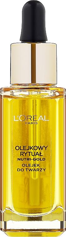 Ulei pentru față - L'Oreal Paris Nutri Gold Face Oil Dry Skin