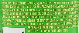 """Mască pentru față """"Ceai verde și floare de portocal"""" - Freeman Feeling Beautiful Brightening Green Tea+Ornge Blossom Peel-Off Gel Mask — Imagine N3"""