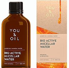 Духи, Парфюмерия, косметика Apă micelară - You & Oil Amber. Bio Active Micellar Water