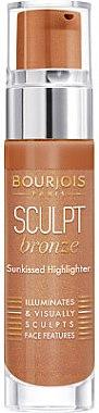 Iluminator lichid pentru față - Bourjois Sculpt Bronze — Imagine N1