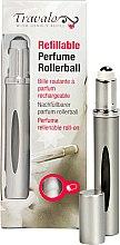 Parfumuri și produse cosmetice Atomizor - Travalo Touch Ellegance Roll-On Silver