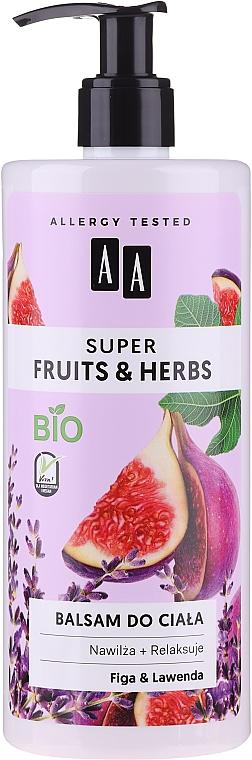 Набор - AA Super Fruits&Herbs Set (sh/gel/500ml + b/lot/500ml) — фото N3