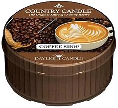 Parfumuri și produse cosmetice Lumânare aromată - Country Candle Coffe Shop Daylight