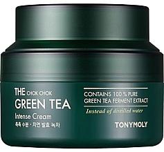 Parfumuri și produse cosmetice Cremă hidratantă intensivă cu extract de ceai verde - Tony Moly The Chok Chok Green Tea Intense Cream