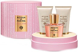 Parfumuri și produse cosmetice Acqua di Parma Rosa Nobile - Set (edp/50ml + sh/gel/50ml + b/cr/50ml)