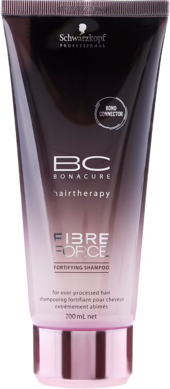 Șampon fară sulfați - Schwarzkopf Professional BC Fibre Force Fortifying Shampoo