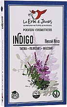 """Parfumuri și produse cosmetice Pudră decolorantă pentru păr """"Indigo"""" - Le Erbe di Janas Indigo (Black Henna)"""
