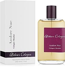 Parfumuri și produse cosmetice Atelier Cologne Ambre Nue - Apă de colonie