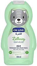 """Parfumuri și produse cosmetice Gel de spălare pentru păr, corp și față """"Fruit Jelly"""" - On Line Le Petit Fruit Jellies 3 In 1 Hair Body Face Wash"""