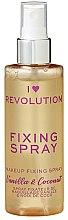 Parfumuri și produse cosmetice Spray pentru fixarea machiajului - I Heart Revolution Fixing Spray Vanilla Bean & Coconut