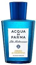 Parfumuri și produse cosmetice Acqua di Parma Blu Mediterraneo Cedro di Taormina - Gel de duș