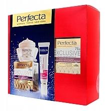 Parfumuri și produse cosmetice Set - Perfecta Exclusive 75+ (crem/50ml + crem/15ml)