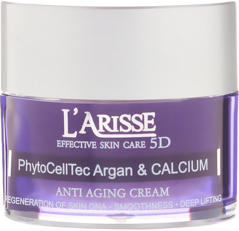Cremă antirid cu celule stem de argan și BIO calciu 75+ - Ava Laboratorium L'Arisse 5D Anti-Wrinkle Cream Stem PhytoCellTech Argan + Calcium — Imagine N2