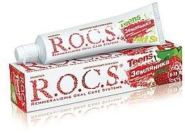 """Parfumuri și produse cosmetice Pastă de dinți """"Aromă sufocantă de vară cu aromă de căpșuni"""" - R.O.C.S. Teens"""