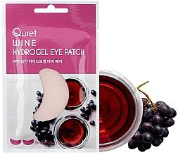 Parfumuri și produse cosmetice Patch-uri sub ochi - Quret Wine Hydrogel Eye Patch