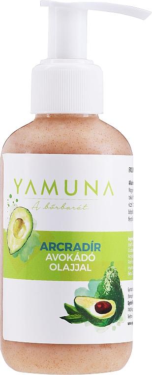 Scrub cu ulei de avocado și migdale măcinate pentru față - Yamuna Face Scrub With Avocado Oil and Ground Almond