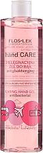 Parfumuri și produse cosmetice Gel antibacterian cu extract de trandafir și bujor pentru mâini - Floslek Hand Care Caring Hand Gel
