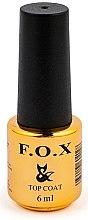 Parfumuri și produse cosmetice Bază mată pentru gel-lac - F.O.X Top Matte No Wipe