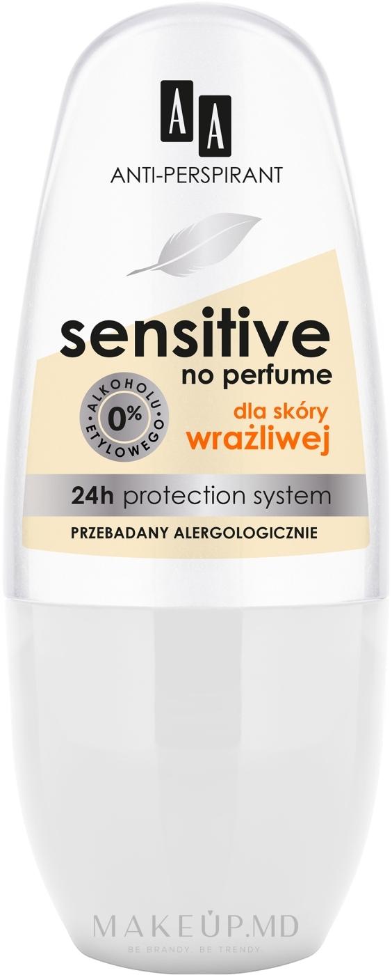 Антиперспирант - AA Deo Anti-Perspirant Sensitive 24H — фото 50 ml