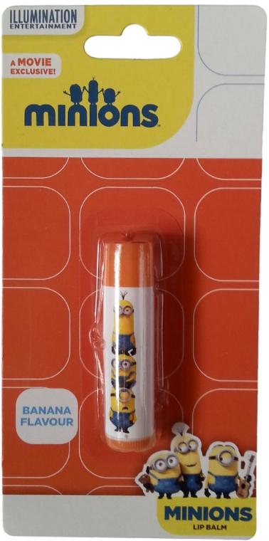 """Balsam de buze """"Banană"""" - Illumination Entertainment Minions Banana Flavour Lip Balm"""