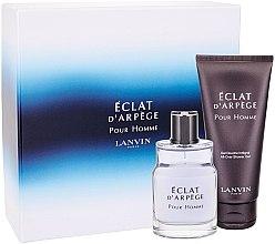 Parfumuri și produse cosmetice Lanvin Eclat d'Arpege Pour Homme - Set (edt/50ml + sh/gel/100ml)