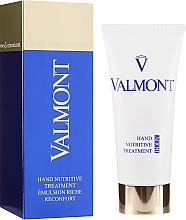 Parfumuri și produse cosmetice Cremă hidratantă de mâni - Valmont Hand Nutritive Treatment