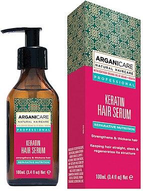 Ser cu keratină pentru păr - Arganicare Keratin Repairing Hair Serum