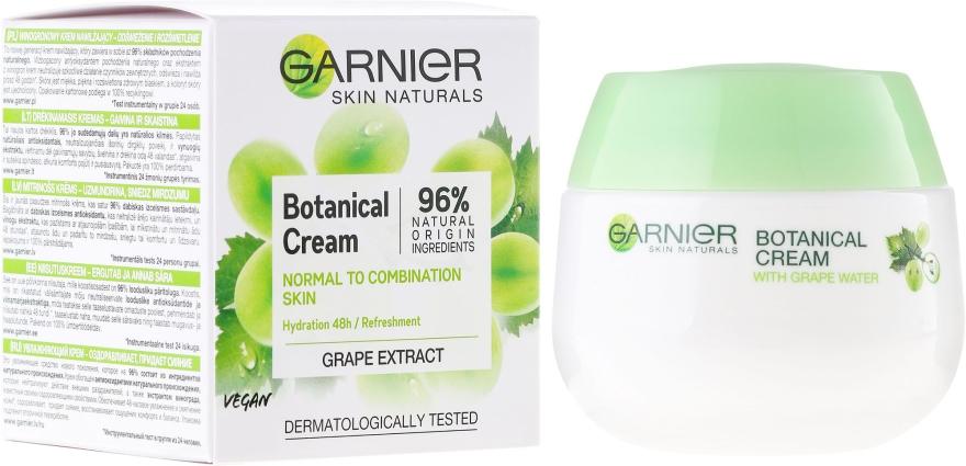 Cremă de față - Garnier Skin Naturals Botanical Grape Extract