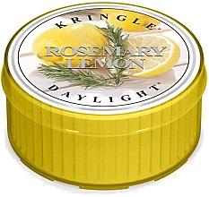 Parfumuri și produse cosmetice Lumânare aromată - Kringle Candle Rosemary Lemon Daylight
