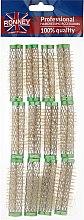 Parfumuri și produse cosmetice Bigudiuri 15/63 mm, verzi - Ronney Wire Curlers