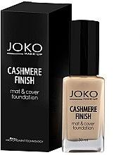Parfumuri și produse cosmetice Fond de ten - Joko Cashmere Finish Mat & Cover Foundation