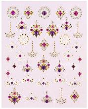 Parfumuri și produse cosmetice Abțibilduri pentru unghii - Peggy Sage Decorative Nail Stickers Luxury (1buc)